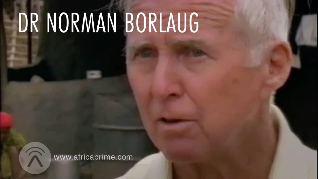 Dr Norman Borlaug